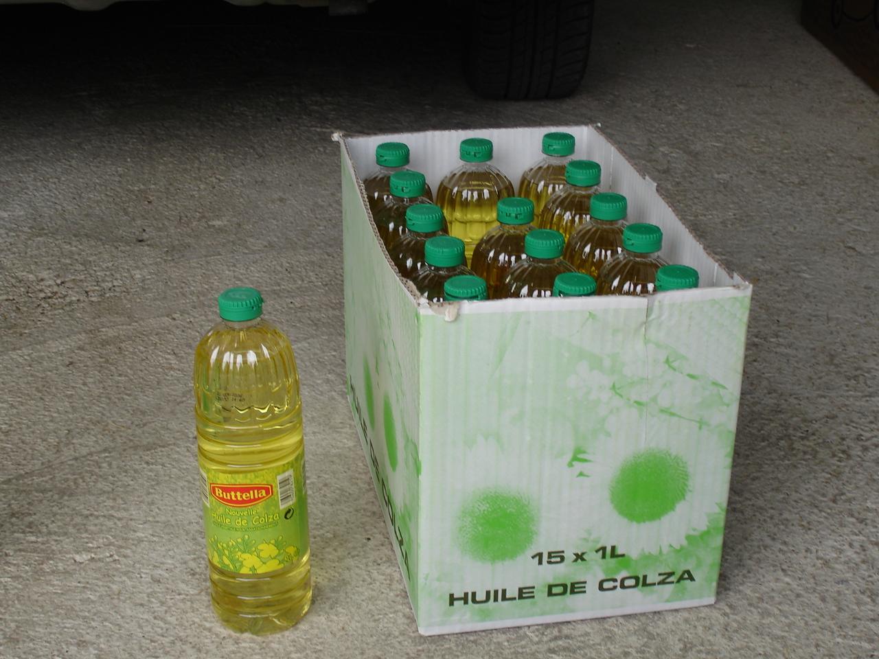 huile colza pas cher